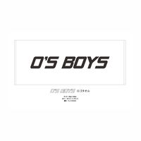O'S BOYS Logo Face Towel