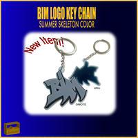 BIM LOGO KEYCHAIN (SUMMER SKELETON)