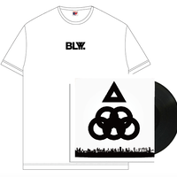 "BLYY ""OYKOT / Papersoul 12 inch Single"" T-Shirts Set(White)【受注期間 9/16(月) 23:59まで】"