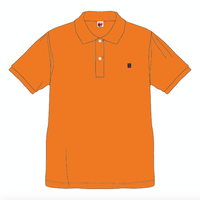 SUMMIT  ''雪山ロゴ'' 刺繍ポロシャツ ORANGE