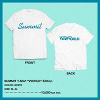 SUMMIT T-Shirts ''VVORLD'' Edition