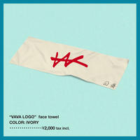 VaVa LOGO face towel