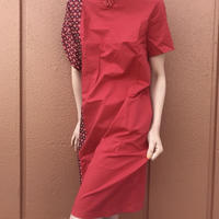 JAQUARD QIPAO DRESS (RED.ver)