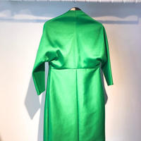 No reason, No collar Coat [GREEN]