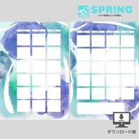 【手帳リフィル】マンスリー A5(そよかぜ)