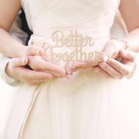 レターケーキトッパー™ Better Together