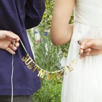 メッセージガーランド™ JUST MARRIED