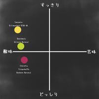 酸味系3種セット(100g×3)【送料無料!】