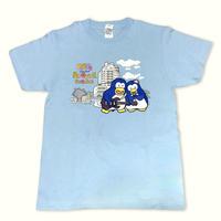 パピプペンギンズ×CHIGASAKI【ブルースカイブルー2020】 Tシャツ