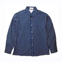 STRIPE SHIRT / DARK BLUE
