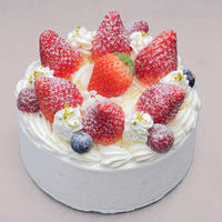 生デコレーションケーキ 4号(最短2時間)