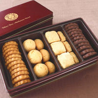 とろけるクッキー 4種(和三盆・ココア・コーヒー・米粉) 45枚入り