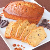 キャラメルショコラパウンドケーキ(長さ15cm、幅7cm)