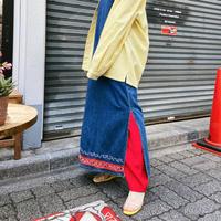 yuru red pants