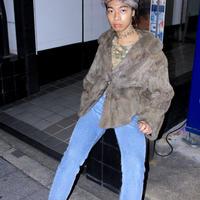kay grey chinchilla coat