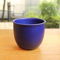 west germany blue planter