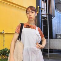 white simple dress maybe inner dress