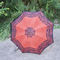 vintage umbrella red