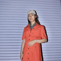 betty barclay red orange dress