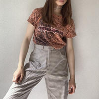 fisser plaid trousers