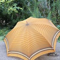vintage umbrella brown