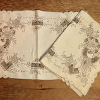 luncheon mat 2 set D