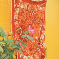 paisley brown scarf