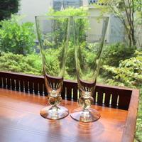 pilsner beer glass 2 set C