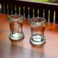 shot glass 2 piece