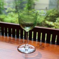 holmegaard glass green 60s
