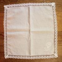 white napkin C