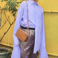 jaeger classic fit purple deka double cuffs shirts