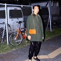 holmewood green wool coat