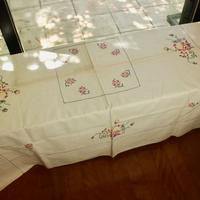 table cloth aoi sen to bara