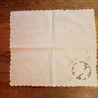 white napkin G