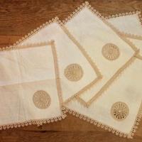lace napkins 6p set