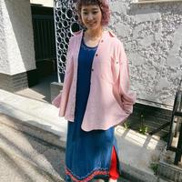 corduroy pastel pink shirt