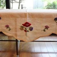 cover linen with embroidery