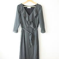 wallis Black and white dots dress