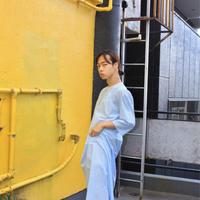 nightdress blue