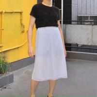 under inner white skirt