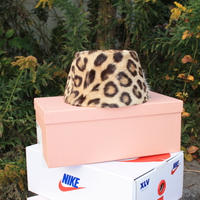ocelot  animal pillbox hat