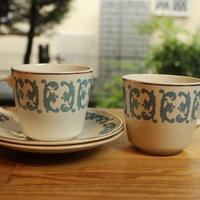crown essex cup and saucer 2 set B