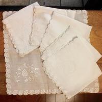 white napkins F 6p set