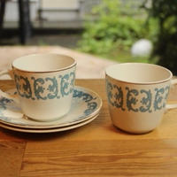 crown essex cup and saucer 2 set A