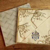 irish linen tea napkins set