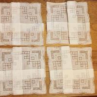 white napkins K