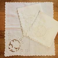 white napkins A 3p set