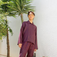 KENZO shirt and trousers set up purple