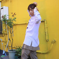 lavender silky shirt